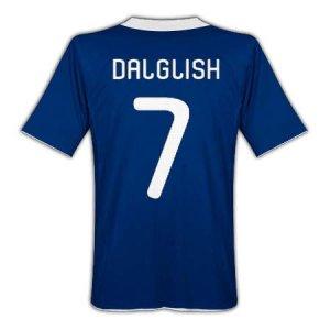 2010-11 Scotland Home Shirt (Dalglish 7)