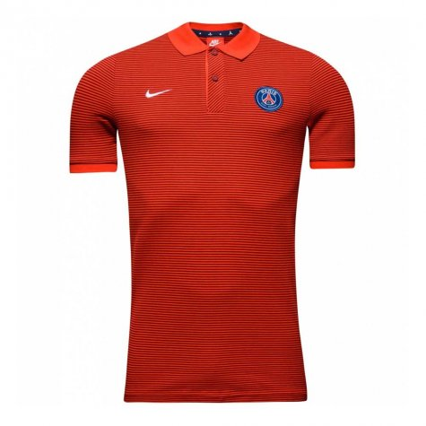 2016-2017 PSG Nike Authentic League Polo Shirt (Red) - Kids