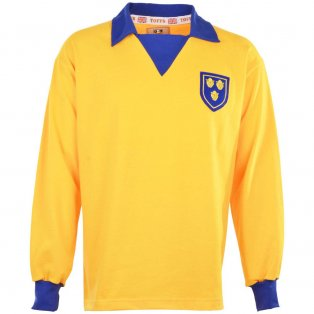 Shrewsbury Town 1970s Retro Football Shirt