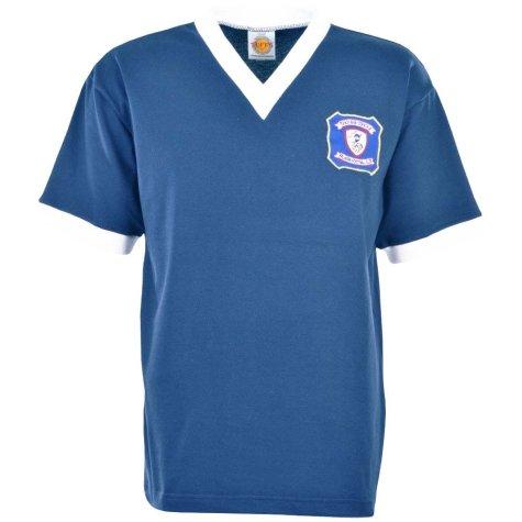 Falkirk 1956-1959 Retro Football Shirt