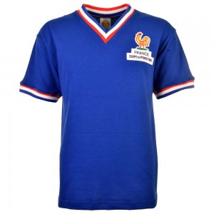 France 1966 World Cup Retro Football Shirt
