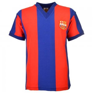 Barcelona 1970s Home Retro Football Shirt