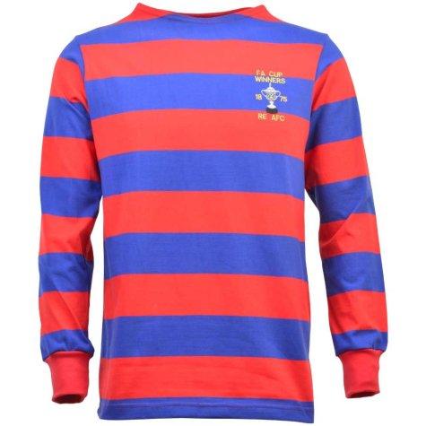 Engineers 1875 FA Cup Winners Retro Football Shirt