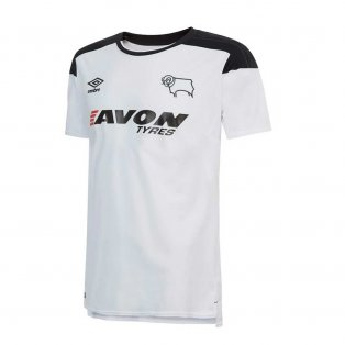 2017-2018 Derby County Home Football Shirt
