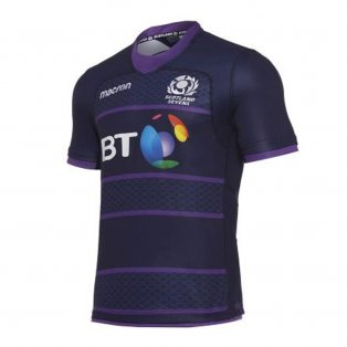 2017-2018 Scotland 7s Poly Home Rugby Shirt