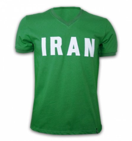 Iran 1970's Short Sleeve Retro Shirt 100% cotton