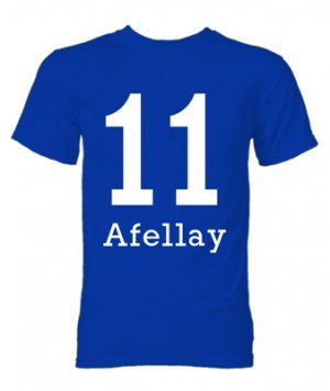 Ibrahim Afellay Schalke Hero T-Shirt (Blue)