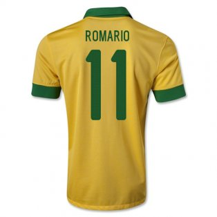 2013-14 Brazil Home Shirt (Romario 11) - Kids