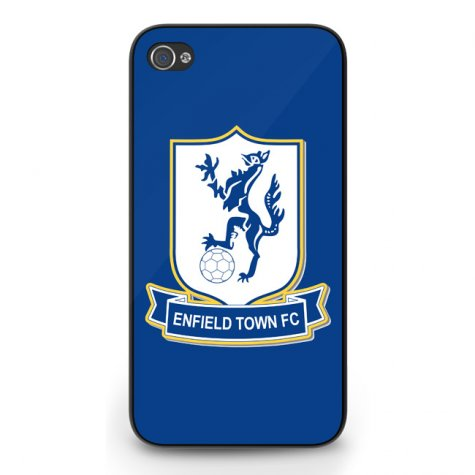 Enfield Town Badge iPhone 5 Cover (Blue)