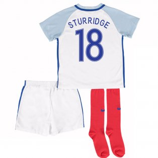 2016-17 England Home Little Boys Kit (Sturridge 18)