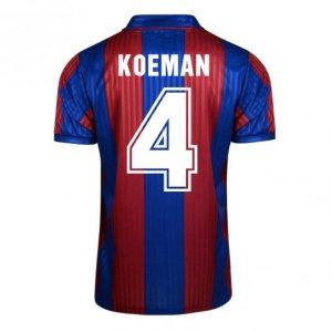 Score Draw Barcelona 1992 Home Shirt (Koeman 4)