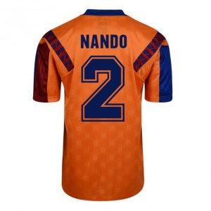 Score Draw Barcelona 1992 Away Shirt (Nando 2)