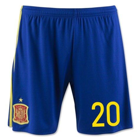 2016-17 Spain Home Shorts (20) - Kids