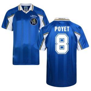 Score Draw Chelsea 1998 Home Shirt (Poyet 8)
