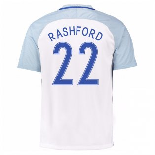 2016-17 England Home Shirt (Rashford 22) - Kids
