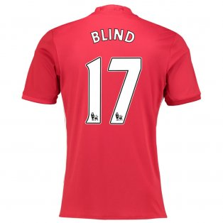 2016-17 Manchester United Home Shirt (Blind 17)