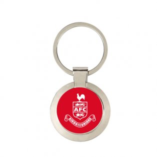 Airdrieonians Official Key Ring