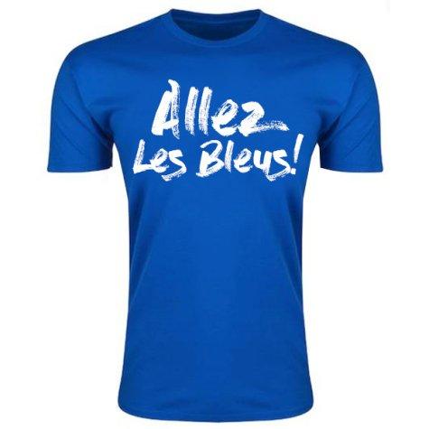 Allez Les Bleus France T-Shirt (Blue)