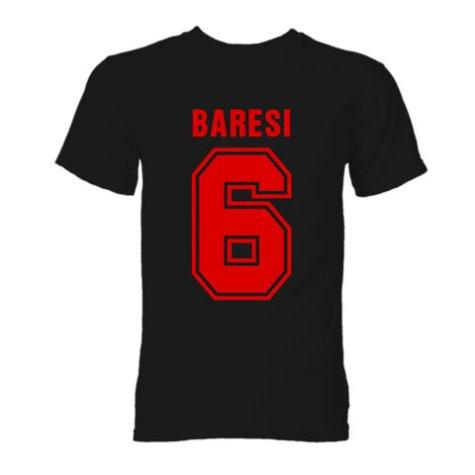 Franco Baresi AC Milan Hero T-Shirt (Black)