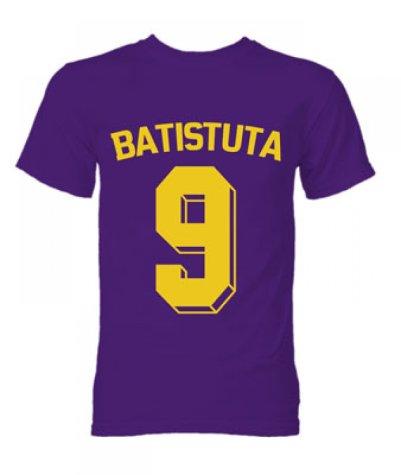 Gabriel Batistuta Fiorentina Hero T-Shirt (Purple)