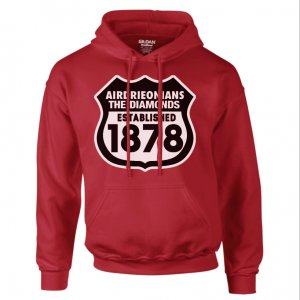 Airdrieonians Established 1888 Hoody (Red)