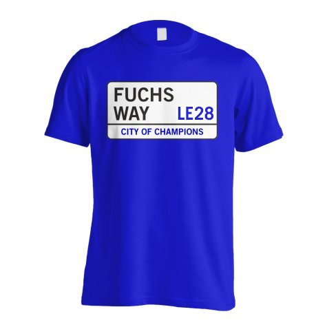 Fuchs Way - Leicester Street T-Shirt (Blue)