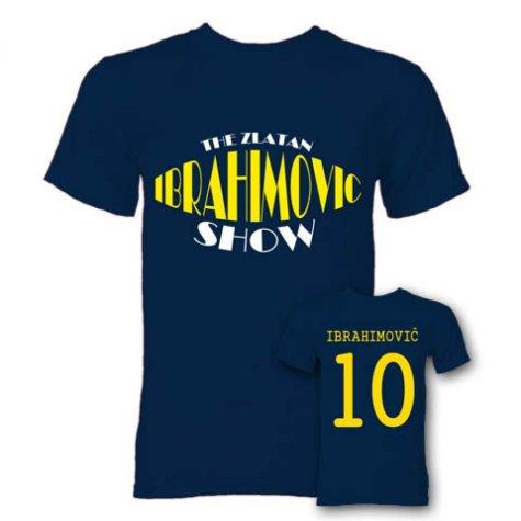 The Zlatan Ibrahimovic Show Hero T-Shirt (Navy)