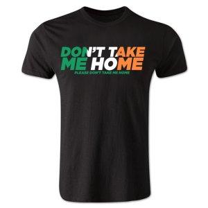 Dont Take Me Home - Ireland T-Shirt (Black)