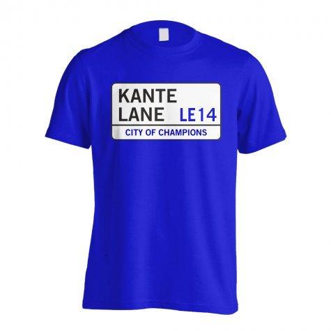 Kante Lane - Leicester Street T-Shirt (Blue) - Kids