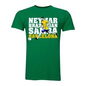 Neymar JR Brazilian Samba T-Shirt (Green) - Kids