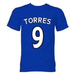 Fernando Torres Chelsea Hero T-Shirt (Blue)