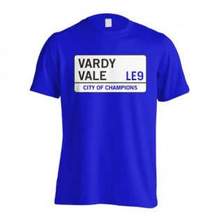 Vardy Vale - Leicester Street T-Shirt (Blue) - Kids