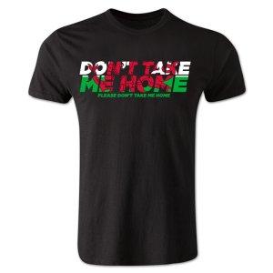 Dont Take Me Home - Wales T-Shirt (Black)