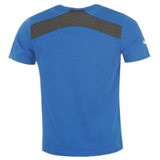 2013-14 Rangers Puma Cotton T-Shirt (Blue) - Kids