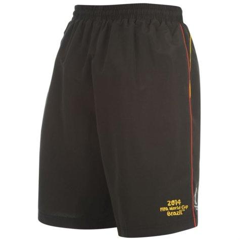 Belgium 2014 FIFA Woven Shorts (Black) - Kids