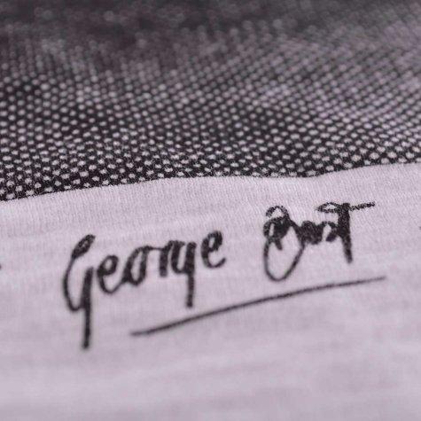 George Best Portrait T-Shirt (White)