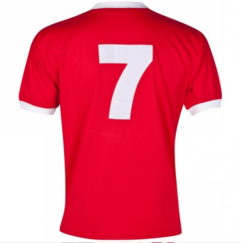Score Draw Liverpool 1973 No7 Home Shirt