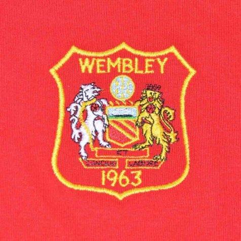 Manchester United 1963 FA Cup Dennis Law 10 Retro Football Shirt