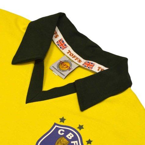 Brazil 1986 World Cup Retro Football Shirt