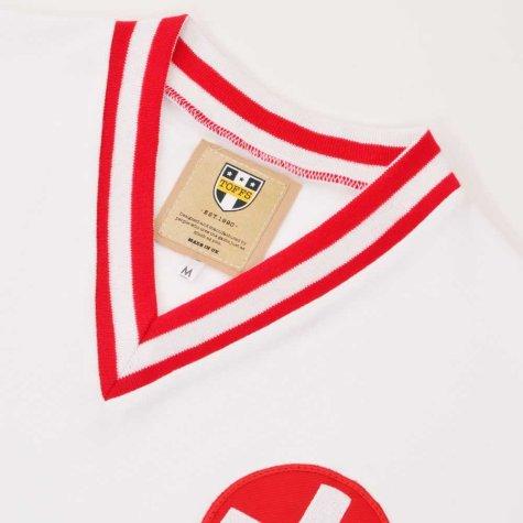 Switzerland 1970s Retro Football Shirt