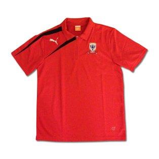 2013-14 Airdrie Puma Polo Shirt (Red)