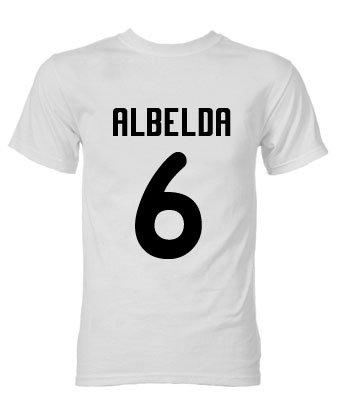 David Albelda Valencia Hero T-Shirt (White)