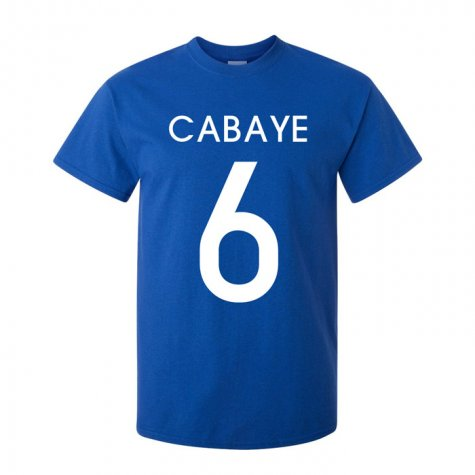 Yoann Cabaye France Hero T-shirt (blue)