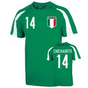 Mexico Sports Training Jersey (chicharito 14)