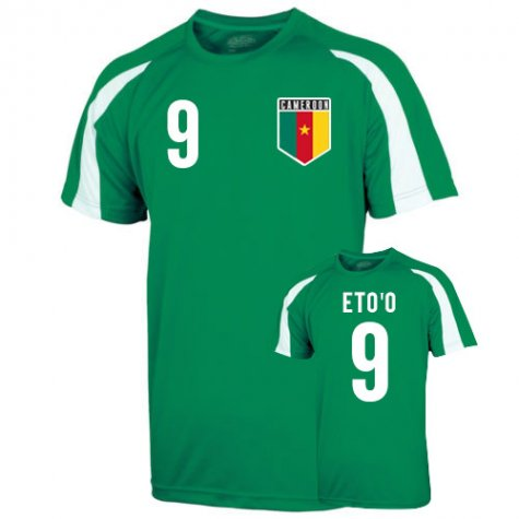 Cameroon Sports Training Jersey (etoo 9) - Kids