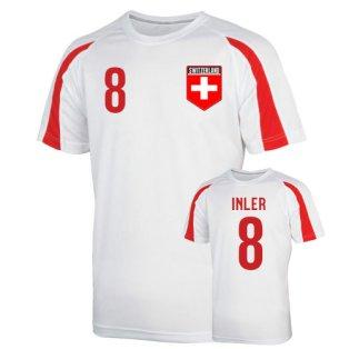 Switzerland Sports Training Jersey (inler 8) - Kids