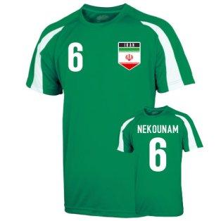 Iran Sports Training Jersey (nekounam 6)