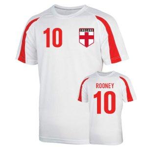 England Sports Training Jersey (rooney 10) - Kids