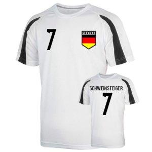 Germany Sports Training Jersey (schweinsteiger 7) - Kids