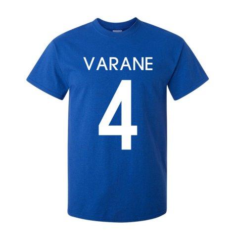 Raphael Varane France Hero T-shirt (blue)